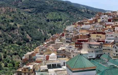 Excursiones a Moulay Idriss, Marruecos