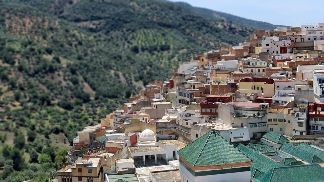 Excursiones a Moulay Idriss, Marruecos