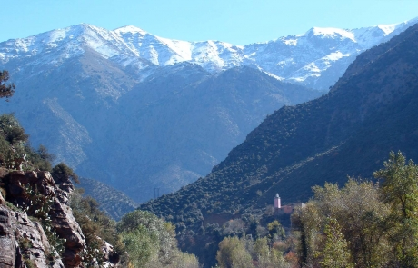 Valle de Ourika, Marruecos