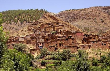 Valle de Ourika, Marruecos.
