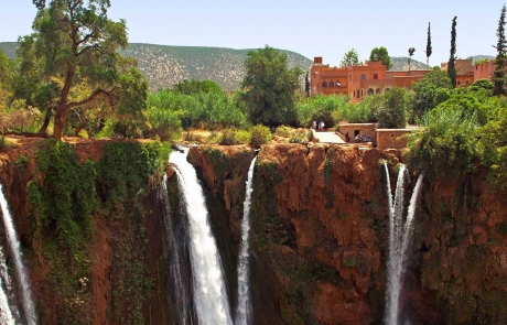 Cascadas de Ouzoud, Marruecos.