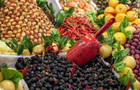 comida en Meknes