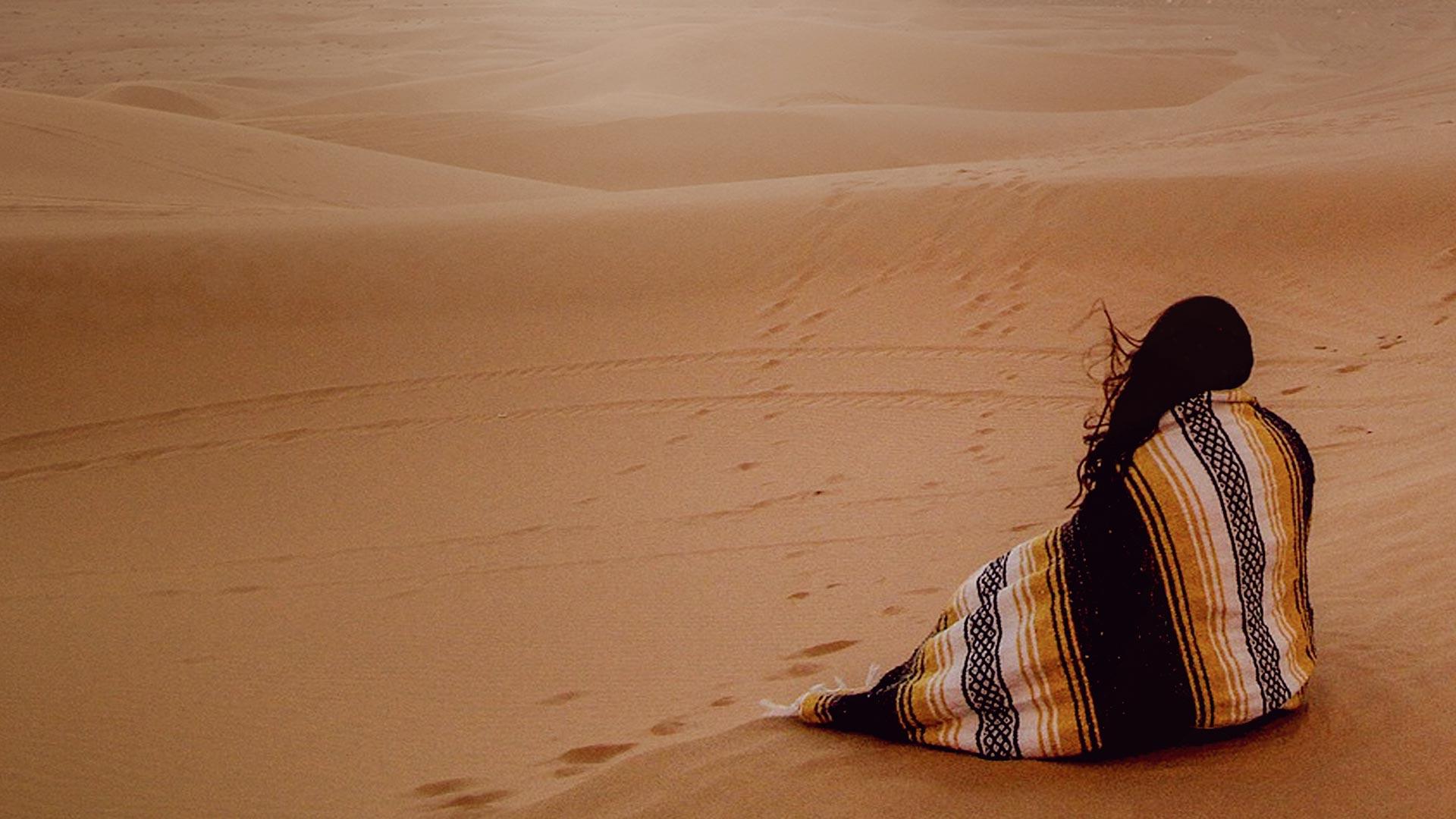 atardecer en el desierto, Marruecos