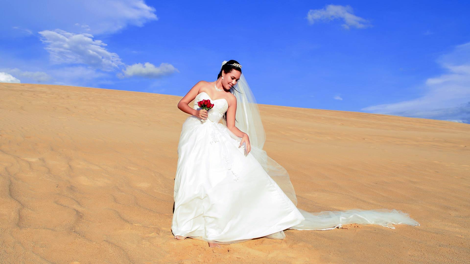 Romántico, Boda en el desierto. Marruecos
