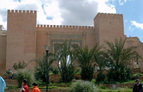 Ciudad imperial de Meknes, Marruecos.