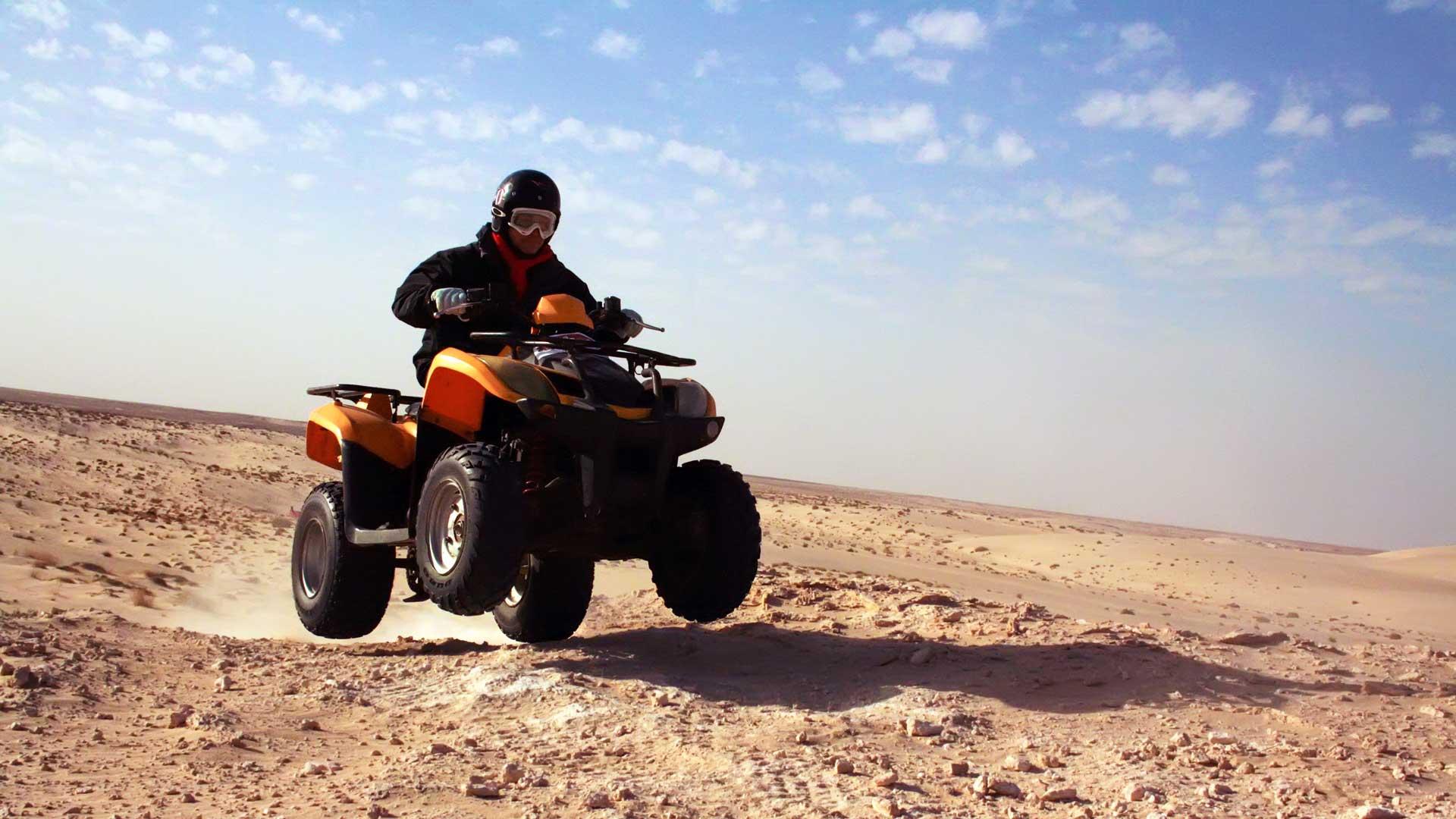 Actividades. Quad en el desierto, Marruecos.